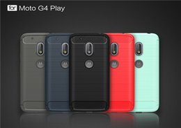 Wholesale E3 Tpu - Brushed Soft TPU Tough Shockproof Rugged Armor Cover Case For Samsung Galaxy J5 J7 2016 J5 J7 Prime Moto G4 Play G4 plus G3 E3