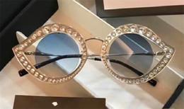 Wholesale Diamond Shaped Boxes - New fashion selling women designer sunglasses lips shape with diamonds frame UV protection lens popular style with original box