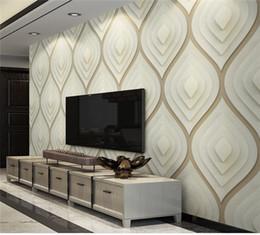 Canada 3D Nordique Abstrait Géométrique Graphique Papier Peint Simple Moderne Salon Canapé TV Fond D'écran Studio Mural Offre