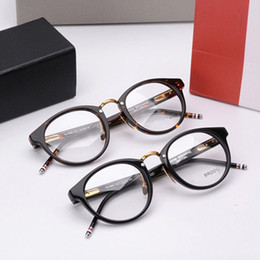 Wholesale Working Fashion - 2017 new arrival TB808 retro-vintage fashion frame quality metal and pure-plank with original packing prescription galssses freeshipping