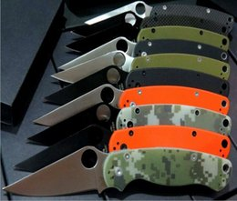 Wholesale 8 models SPider C81 back lock camping knife Hunting Folding Pocket Knife Xmas gift KNIFE sample freeshipping