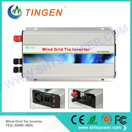 Wholesale Grid Tie Micro - Wind micro grid tie inverter 300w with dump load controller protection dc 10.8-30v input