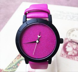 Wholesale Date Night Dresses - Fashion Design women watches Luxury PU leather band night sky simple quartz casual wristwatches Dress ladies Famous watch gifts 2017 new