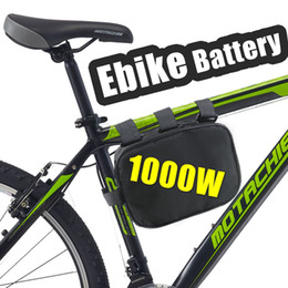 Wholesale Battery Electric Bike 48v - 48V electric bike lithium ion battery down tube 1000W battery Pack