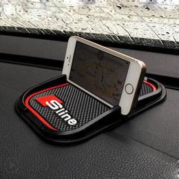 2020 pegatinas audi a4 Adhesivo antideslizante para teléfono móvil compatible con GPS para Audi A2 A3 A4 A6 A8 A7 TT Q3 Q5 Q7 RS3 RS5 RS7 rebajas pegatinas audi a4