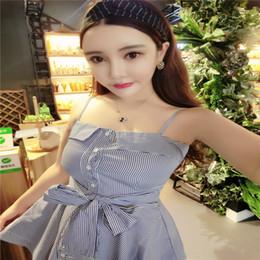2019 vestiti blu dalla parte superiore del tubo Bowknot Boob Tube Top Abito blu Fashion Style Fittness Sweat Abito abito nero Spedizione gratuita vestiti blu dalla parte superiore del tubo economici