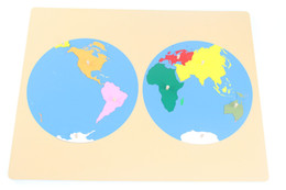 Wholesale Puzzles Map - Wholesale- Baby Toy Montessori Puzzle Map Globe Global Learning & Education Early Childhood Education Kids Toys Brinquedos Juguetes