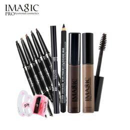 Wholesale Automatic Start - Wholesale- Get Started Makeup Sets IMAGIC set Eyebrow Mascara automatic Eyebrow pencil eye Make Up Cosmetic makeup tool Makeup Gift