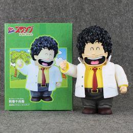 Wholesale Dr Toys - 22cm Anime Cartoon Arale Dr. Slump Senbei Norimaki PVC Action Figure Collectiable Model Toy for Kids Gift Free Shipping Retail