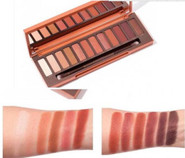 Wholesale Makeup Palette 12 Colors Eyeshadow - HOT 2017 NEW Heat Palette EyeShadow Palette 12 color eyeshadow palettes Makeup DHL free shipping.