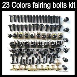 Wholesale Gsxr K4 - Fairing bolts full screw kit For SUZUKI GSXR600 GSXR750 04 05 GSXR 600 750 K4 GSX R600 R750 2004 2005 Body Nuts screws nut bolt kit 13Colors