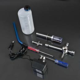 Wholesale Rc Nitro Car Kits - HSP 250cc Nitro Gas Fuel Filler Tool Kit Set Glow Plug Lgniter for RC Car Truck