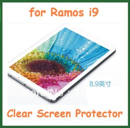 """Wholesale Ramos Tablet Pc - Wholesale- 5pcs Clear Screen Protector Guard Film for Ramos i9 Tablet PC 8.9"""" Size 231x145mm No Retail Packaging"""