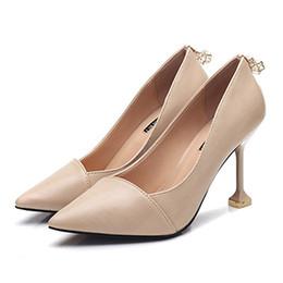 Wholesale Best Online Shopping - Women's Footwear Online Shopping Ladies Cheap Heels Online Fashion Purple Pumps Shoe Best Place To Buy Shoes Online Girls PU Designer Outlet