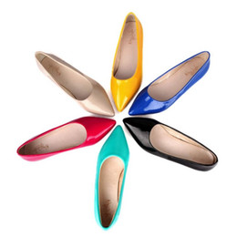 Wholesale Small Medium Heels Women Shoes - Wholesale price fashion women flats with small size and large size ( US1~US13 ) hot seeling 2017 spring pumps comfortable shoes S194