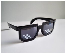 Wholesale fast programmers - 2017 Fashion Mosaic sunglasses Code Programmer Black Sunglasses for gift fast delivery