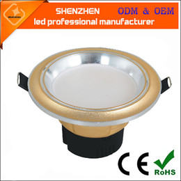 Wholesale Led Aluminum Acryl - 3w tri-color temperature LED lamp dimming lamp 2.5inch anti fog integrated led downlight high quality color changing led down light