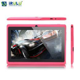 Wholesale Irulu Tablet Pc 8gb - iRULU eXpro X3 7 inch Tablet PC Android 6.0 Allwinner Quad Core 8GB ROM Dual Cameras HD Screen 1024x600 2800mAh WiFi GMS Games
