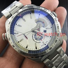 Wholesale Watch Rs - Promotion Tag Mens Watches Top Brand Luxury Automatic Mechanical Hand-winding Watch CALIBRE 36 RS CALIPER Mens Sports Military Watch White