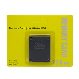 Wholesale Memory 64 - Wholesale 8 16 32 64 128MB Memory Card Save Game Data Stick For Sony Playstation 2 PS2