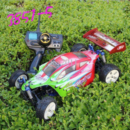 Wholesale Remote Control Truck Racing - RC car Electric radio Remote Control cars 4WD truck 1:10 Racing Buggy RTR toys Free shipping