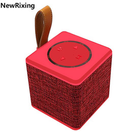 Wholesale High End Hifi Wholesaler - High-end Bluetooth Speaker 5W Power 3 Inch Horn Diaphragm Illumination Portable Wireless Speaker Subwoofer Loudspeakers DHL shipping