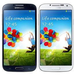 S4 renoviert online-Überholter ursprünglicher Samsung-Galaxie S4 i9500 i9505 5,0 Zoll Viererkabel-Kern 2GB RAM 16GB ROM 13MP 3G 4G LTE entriegelt androides Smart Phone DHL 5pcs