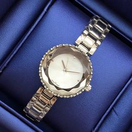 Wholesale Gold Steel Watch Chain - 2017 Luxury Women Watches Dress Watch Steel Bracelet Chain Classic Quartz Bracelet Tassels style Gold bracelet Watch Jewelry buckle
