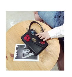 Wholesale Black Women Spandex - High quality Original Women Bag female small bags Italy Luxury Brand bags Fashion Designer 2017 new with butterfly