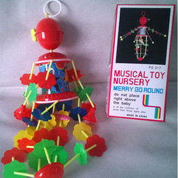 Wholesale Music Piano Toys - Wholesale- Nursery Baby Music Toy Hanging Piano Infant Campanula Toys Baby Carriages Decorations