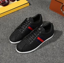 Wholesale Italy Designer Shoes - New Designer Brand Genuine Leather Men's Suede Flats Italy Fashion leisure folding Driving Shoes Men's Loafers Moccasins for Men