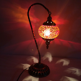 Wholesale wiring hanging lamp - Exotic Turkey lamp The bedroom chandeliers Romantic lamp