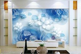 2019 papel de parede preto de ouro Personalizado 3d mural transparente mundo subaquático papel de parede para paredes da parede da foto mural para sala de estar