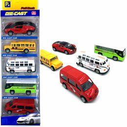Wholesale Die Cast 64 - Upslon Die-cast Car Bus Sports car Student car Ambulance 1:64 Toys for children Alloy Cars Model Wholesale-recreational vehicle