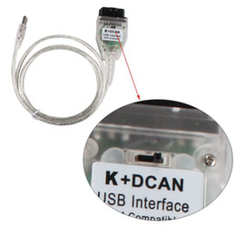 Wholesale Bmw D Can - For BMW INPA K+CAN with Switch K+D CAN USB OBD Interface INPA Compatible For BMW K-LINE Protocol via free shipping
