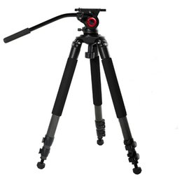 Wholesale Tripods For Video Dslr - 2017 miliboo professional aluminum MTT701A tripod for video camcorder fluid head dslr   better than manfrotto tripod