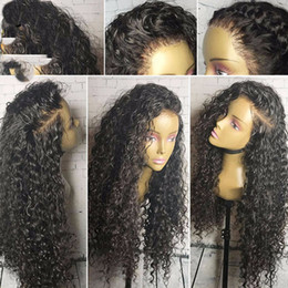 Wholesale Brown Curly Afro Wig - Brazilian Curly Wigs For Black Women Lace Front Human Hair Wigs Full Lace Wig Lace Front Wig Brazilian Virgin Human Hair Wigs