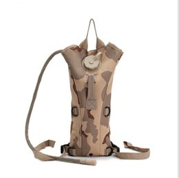 Wholesale Tactical Assault Backpack Hydration - Multicolor 3L Hydration Packs Tactical Water Bag Assault Backpack Hiking Pouch Backpacks Shoulder Bag hiking camping water bag