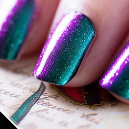 Wholesale Color Changing Gel Nail Polish - Wholesale- Perfect Summer 1PCS 3D Chameleon Gel Polish Holographic Color Changing 10ml UV Gel Nail Polish 12 Colors