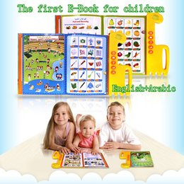 Wholesale Educational Electronic Toys For Children - Hot The first E-book for children,english+arabic bilingual reading machine,educational learning toys muslim quran for all kids