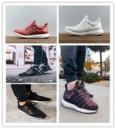 Wholesale Table Tennis Fashion - 2017 Ultra Boost 3.0 Triple Black white Running Shoes men Women Ultraboost Oreo CNY Primeknit shoes Fashion Casual Shoes size eur 36-47
