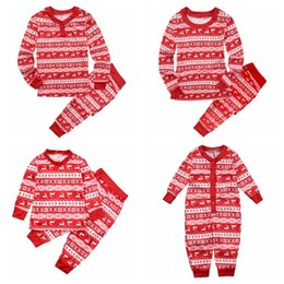 father son pajamas Promo Codes - Family Christmas Pajamas Family Matching  Clothes clothing Mother Daughter 2016 d61228af6