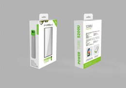 Wholesale External Mobile Devices Power - MIPOW 5200U Universal Power Bank External Battery Pack Backup for iPhone iPod Samsung LG Sony Other Mobile Cell Phone Devices