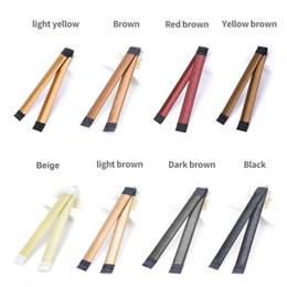 Schwarze braune krawatten online-2018 Haar-Riegel-Mädchen-Haar DIY, das Donut-ehemalige Schaum-Haar-Bögen färbt, drehen Twist magisches Werkzeug-Brötchen-Hersteller-schwarzen Brown-Kaffee 8colors, um zu wählen