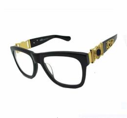 Wholesale Coat Italy Brand - 2017 Italy designer men women brand sunglasses metal frame Medusa vintage eyeglasses coating lens eyewear lunette