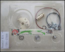 Turbo-reparatur-kit online-Turbo Repair Kit umgebaut GT1749V 17201-27030 721164 Turbolader für TOYOTA RAV4 D4D Avensis Picknick Previa Estima 1CD-FTV 2.0L