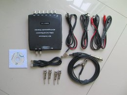 Wholesale Digital Storage Oscilloscope Multimeter - Hantek 1008C Automotive Oscilloscope 8 Channels Programmable Digital Multimeter PC Storage Osciloscopio USB Diagnostic-tool Free shipping
