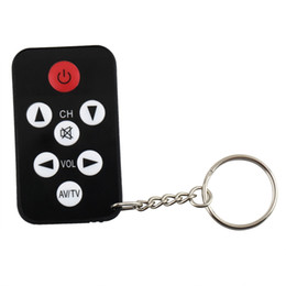 Wholesale Philips Remote - 1pc TV Mini Keychain with battery Universal Remote Control for Philips,Sony,Panasonic,Toshiba Free shipping