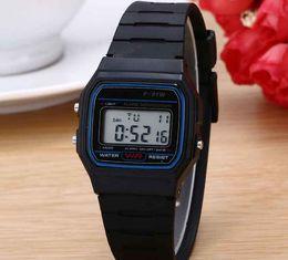 Wholesale Best Alarm Watch - Luxury Man Watch Silicone Led Watch alarm clock F-91W watches Digital Led clock F91W LED watches Fashion Silicone Watch for Best Gift