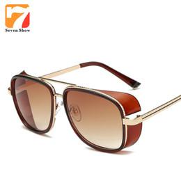 Wholesale Wholesale Matsuda Sunglasses - Wholesale- 2016 Metal Frame Sunglasses Women Steampunk Goggles Sun Glasses Vintage Retro Glasses Brand Designer Matsuda Sunglasses UV400